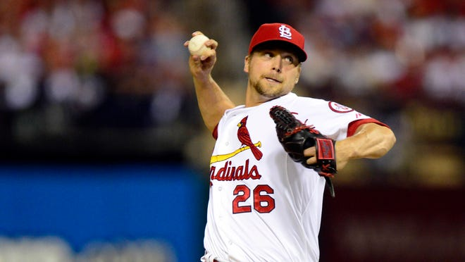 Rookie right-hander Trevor Rosenthal has saved a pair of games this postseason for the Cardinals.