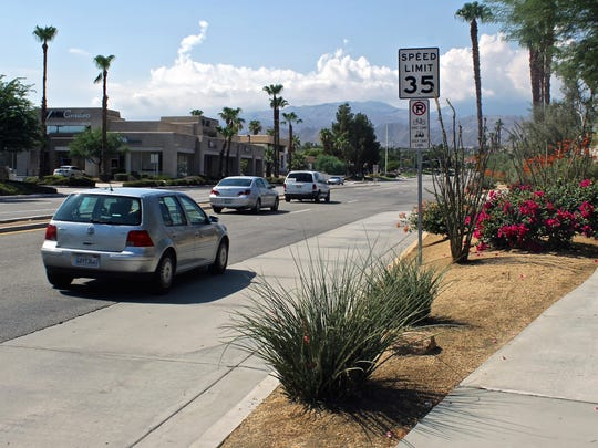Work begins Wednesday on a repaving project on Town Center Way in Palm Desert. Work will last about a month.