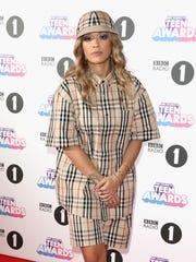 Rita Ora attends the BBC Radio 1 Teen Awards 2017 at