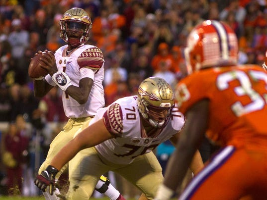 NCAA Football: Florida State at Clemson