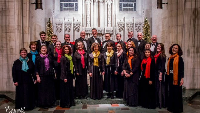 "Caritas Chamber Chorale, an a capella choir under the direction of founder Barbara Sanderman, will perform a program called ""Yet I Will Rejoice!"" at three venues May 18 to 20."
