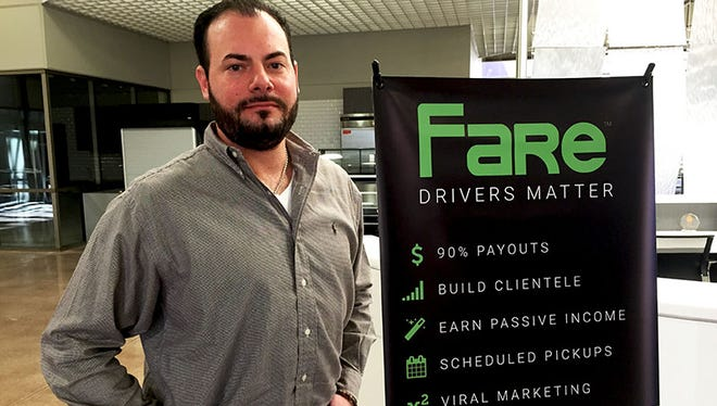As a former Uber and Lyft driver, Aron Lemisch founded Ride Fare, LLC. He wants to provide a tool for drivers to make more money.