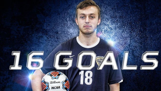 Smoky Mountain alum Jordan Couch is a junior at Emory & Henry (Va.).