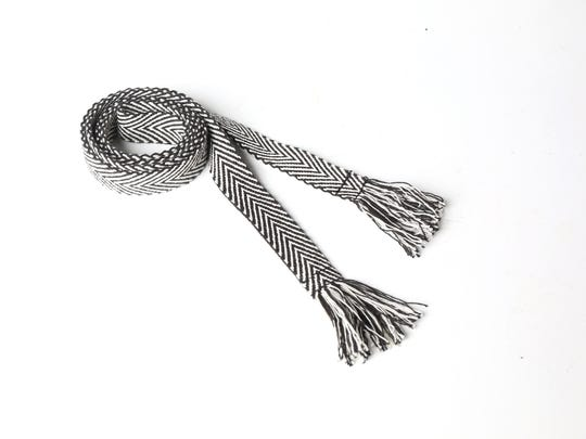 Belt: If fringe isn't your thing, start small with a fringe belt. American Eagle, $5.