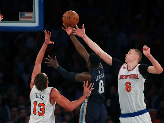 Memphis Grizzlies v New York Knicks