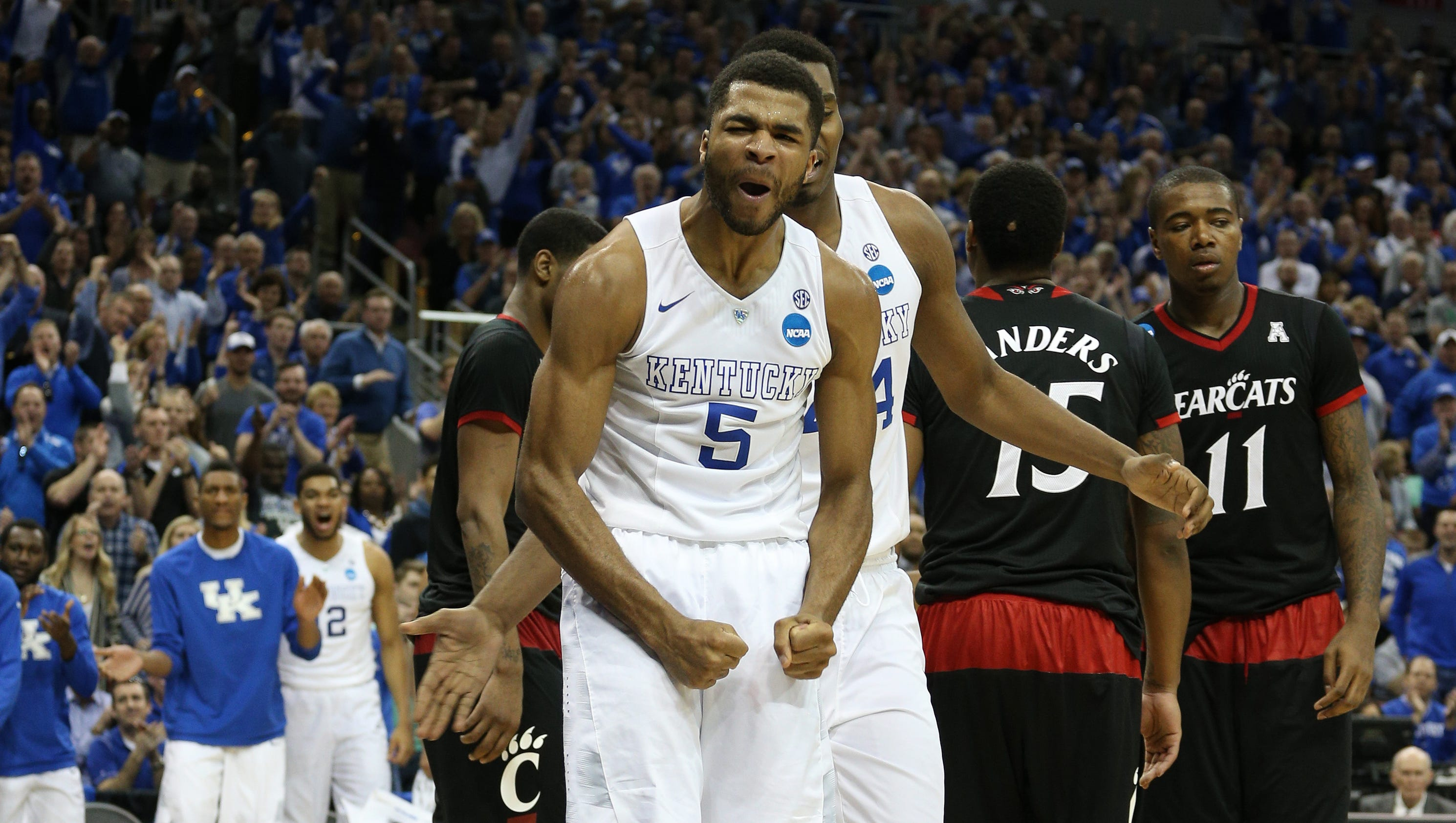 Uk Basketball: Ranking The Sweet 16 Teams Of The 2015 NCAA Tournament