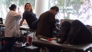 Ventura County Credit Union and California Resources Corp. teamed up to sponsor a  blood drive in January.