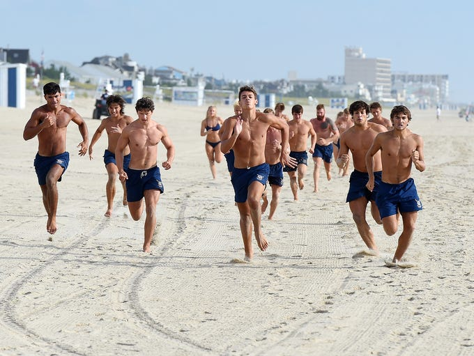Dewey Beach Patrol welcomed 17 new lifeguards after