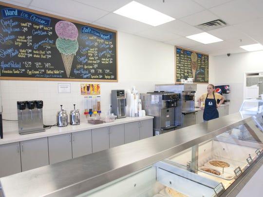 Hoffman's Ice Cream store opens in Long Branch- April 9, 2014-Long Branch, NJ. Staff photographer/Bob Bielk/Asbury Park Press