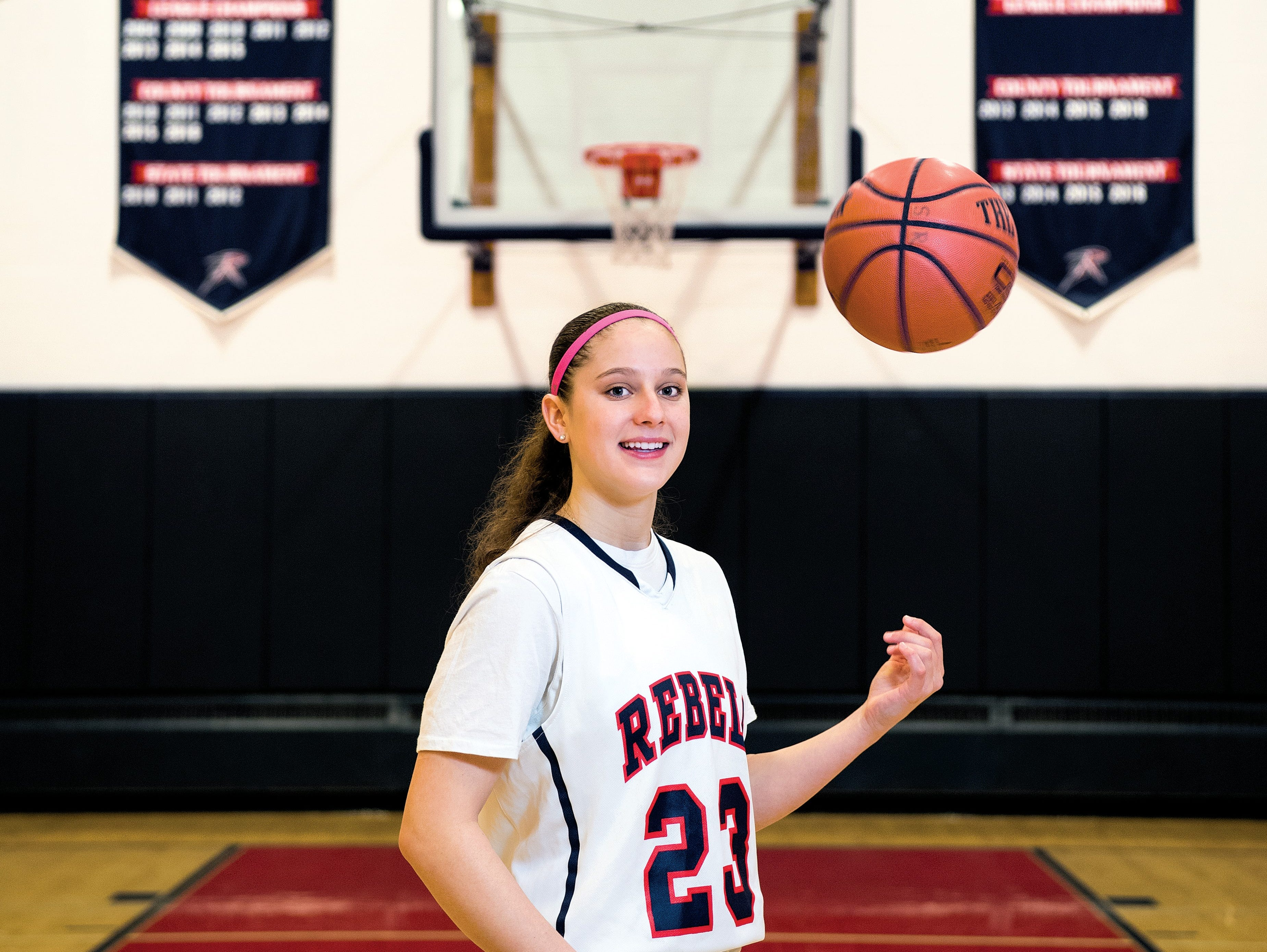 Michelle Sidor has become the first Bergen County girls' basketball player to ever reach 2,000 points as a junior.