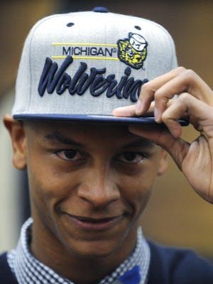 Prattville High School's Keith Washington announced on Feb. 4, 2015 that he is signing with Michigan.