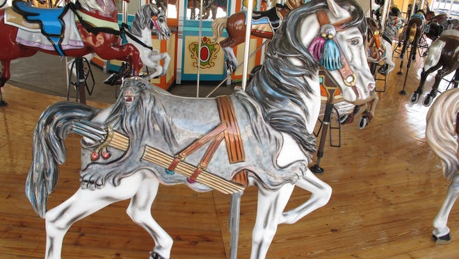 The old Palace Carousel has been in storage for almost 16 years.