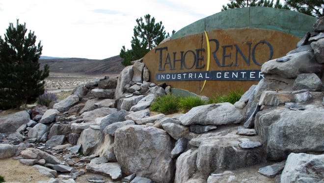 """The Tahoe Reno Industrial Center in Sparks, Nev. where Tesla Motors broke ground as a possible site for the """"Gigafactory'' to make lithium batteries for electric cars."""
