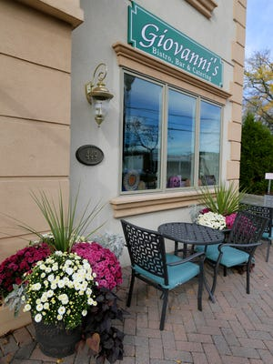 Giovanni's Bistro & Bar, a Berkeley Heights restaurant featuring 'American bistro' fare owned by Bob and Nadine Tokash and recently celebrating its grand re-opening with a new chef, Chris Ita, in Berkeley Heights, NJ Wednesday, October 26, 2016.