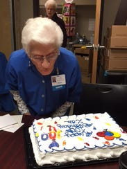 Zita Pearsall is turning 100 years old this year, and