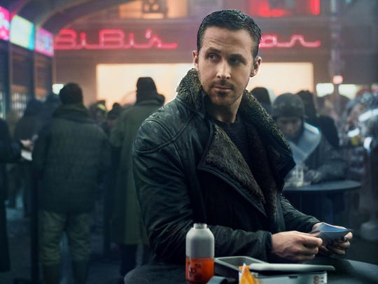 "Ryan Gosling stars as Officer K in ""Blade Runner 2049."""