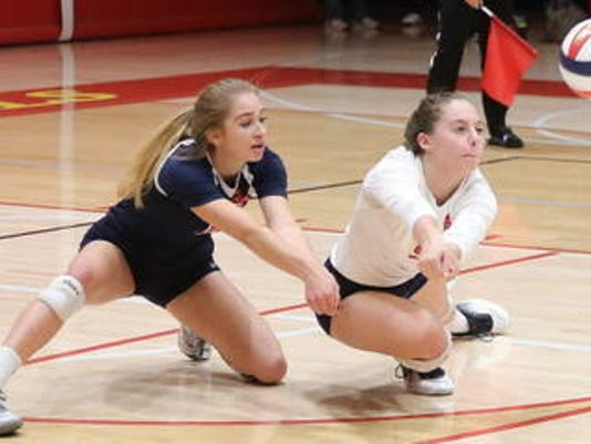 Brookfield East girls volleyball