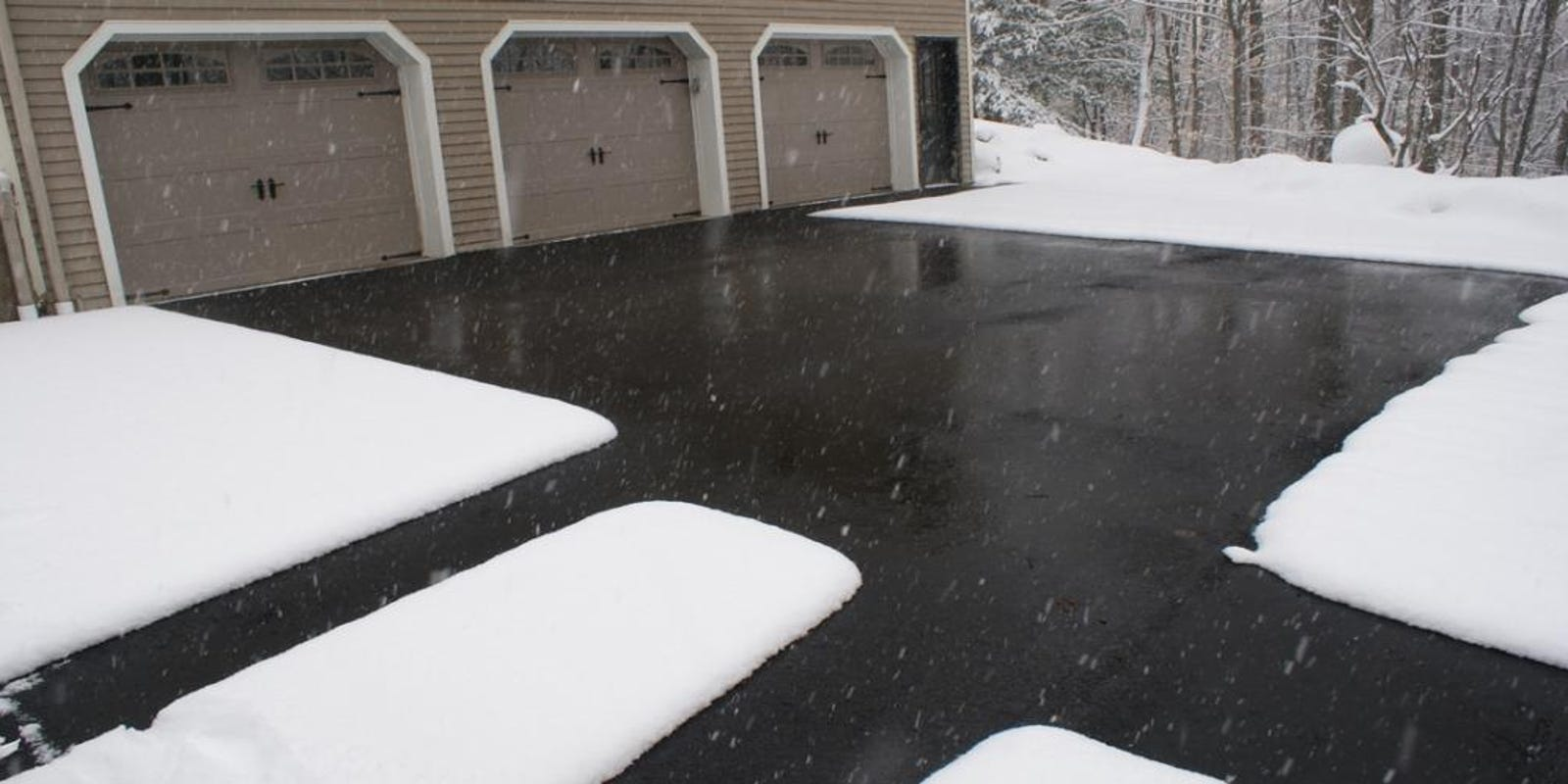 The Simplest Snow Removal