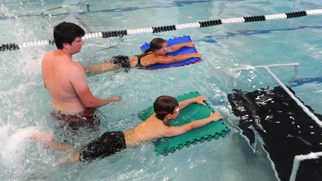 Swim Teachers Encourage Parents To Be Patient About How Fast Kids Progress In The Pool