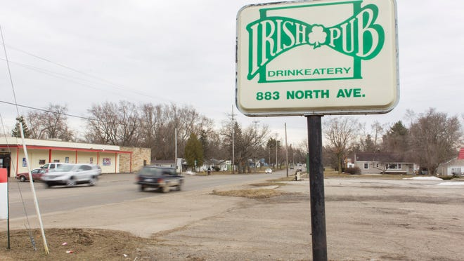 The Irish Pub at 883 North Ave. goes up for auction on Tuesday.