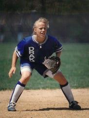 Former Drake University softball star Dani Tyler was