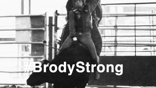 Brody Ross lived near Byers, worked at Pratt Livestock, and was well-known on the regional rodeo circuit as Cowboy Brody, when he was involved in a life-altering vehicle accident in August 2019. He was in a coma for some time, but is now at home with his family in Georgia, taking the long, slow road to recovery.  His family requests continued thoughts and prayers as he continues to deal with vision, throat and balance issues.
