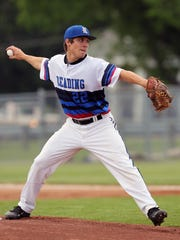 Reading starter Grayson Roberts pitches in the sectional