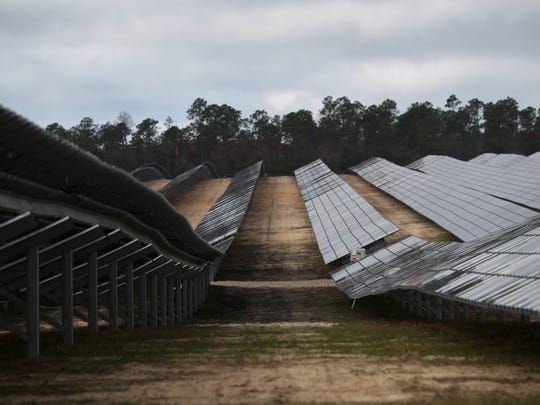Phase one of the city of Tallahassee's solar project