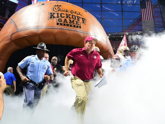 In eight years at FSU, Jimbo Fisher has compiled an