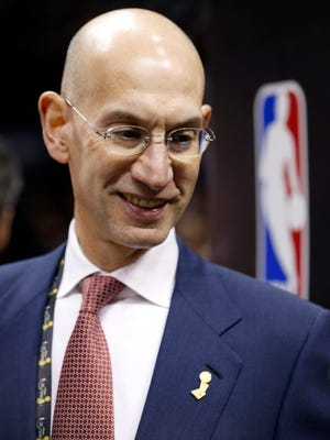 New NBA Commissioner Adam Silver has extensive experience in the league office.