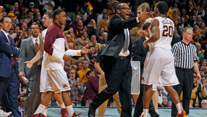University of Minnesota men's assistant basketball coach Kimani Young starred for UTEP in the 1990s.