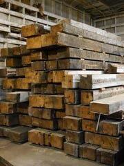 Barnwood Naturals, a local business that reclaims salvageable wood, received wood beams from the ex-cannery's machine shops.