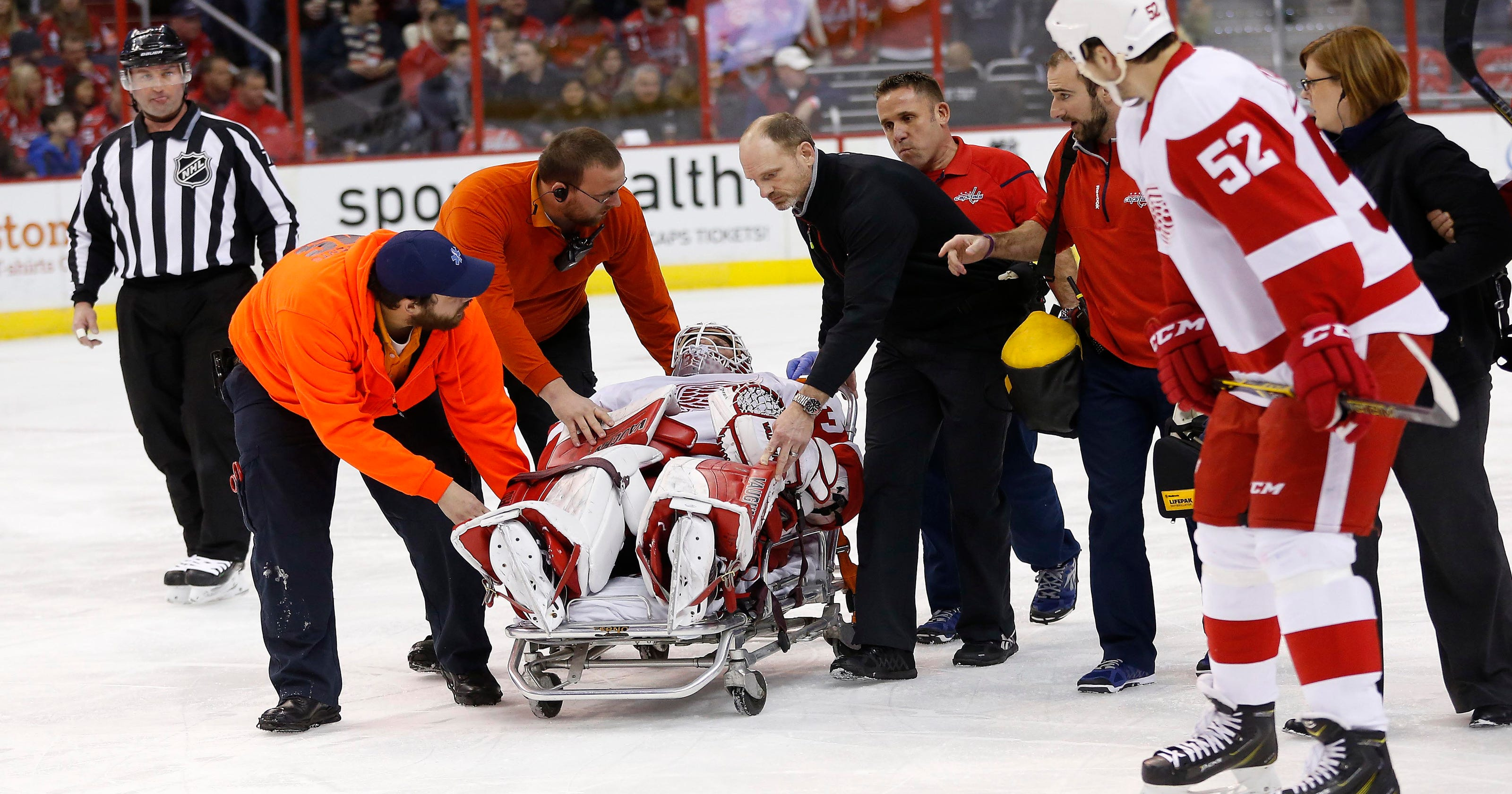 a05f7ca28 Red Wings place Jimmy Howard on injured list