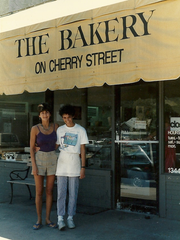 Mary Rose returns to work at The Bakery on Cherry Street in Tulsa.