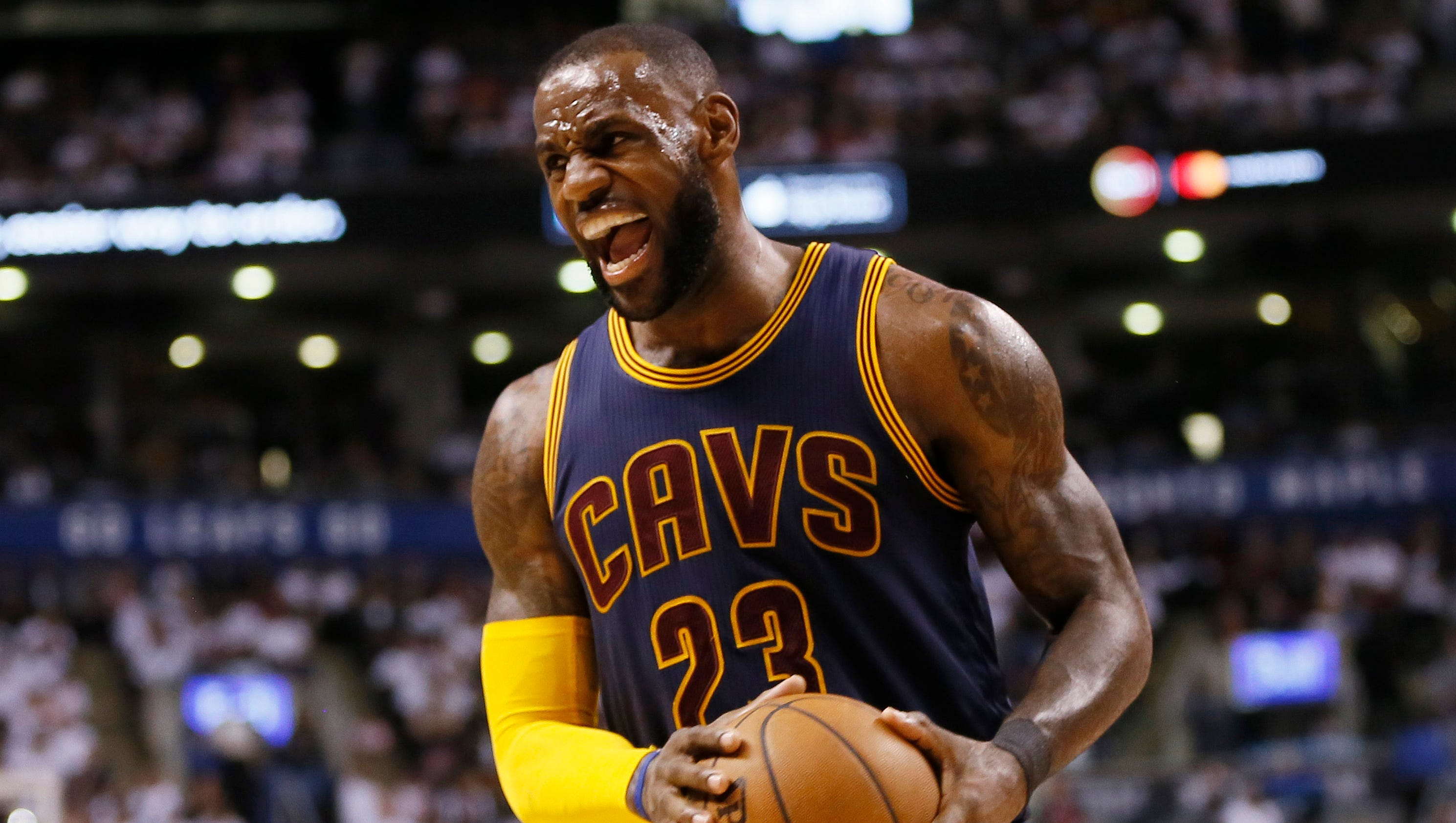 Cavaliers vs. Raptors: LeBron James wills Cleveland to ...