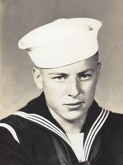 Bill Knapp's Naval photo from 1945