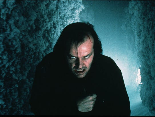 """Jack Nicholson in """"The Shining,"""" which will be screening"""