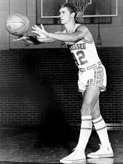 Bill Justus, Tennessee basketball player 1965-69. Tennessee