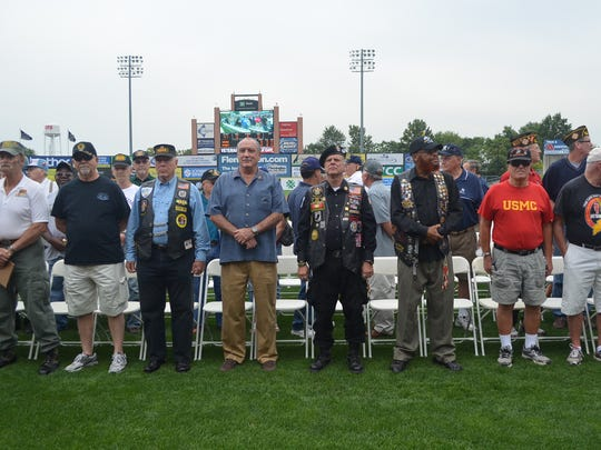 """Along with the Vietnam Veterans of America Chapter 452, the Somerset Patriots will open the ballpark's gates on Aug. 28 and host the 14th """"Veterans of Ameriica Day"""" with a special pre-game ceremony designed to celebrate the courage and sacrifice of all U.S. Armed Forces veterans and active service men and women to the ballpark."""