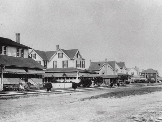 The north side of Balto Avenue in Rehoboth Beach, date unknown.
