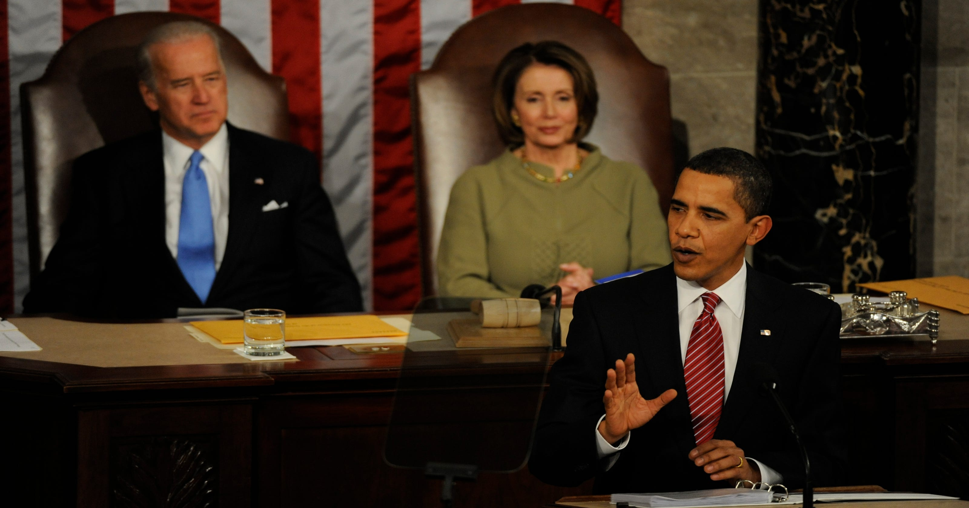 How the last 5 presidents handled their first address to Congress