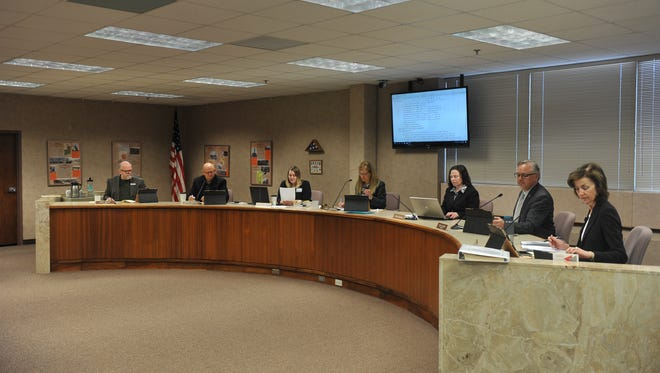 The Minnehaha County Commission meets for a regular weekly meeting on Tuesday, Feb. 27, in the Minnehaha County Administration Building in Sioux Falls.