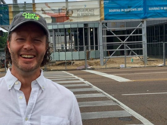 Philipp von Holtzendorff-Fehling, chief executive and co-founder of Mama Gaia, is bringing his restaurant to the new Ballet Memphis building in Overton Square.