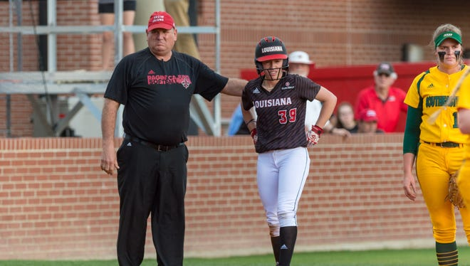 UL coach Gerry Glasco is looking for more power in his lineup. in Friday's 8-6 win over North Florida, sophomore Kynadi Tipler and freshman Caitlin Garcia showed some positive signs.