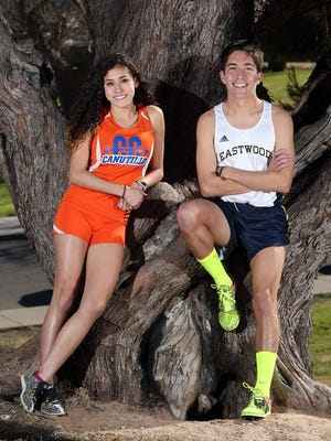 Anissa Burciaga of Canutillo and Daniel Bernal of Eastwood are the El Paso Times' High School Cross Country Runners of the Year for 2016.