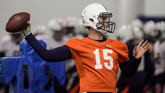 Jarrett Stidham could be the missing piece Auburn needs to make a major run at the College Football Playoff this season.