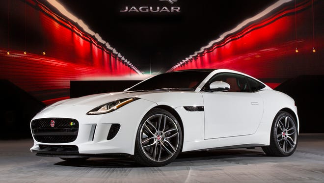 Jaguar will add a coupe version of its F-Type two-seat sports car next spring.