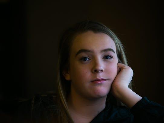 Transgender teenager Maddie Heeney.