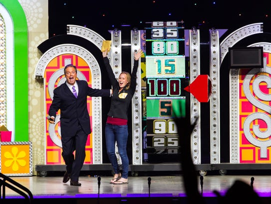 "A contestant celebrates during ""The Price is Right"