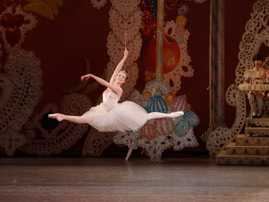 Sterling Hyltin dances the role of the Sugarplum Fairy